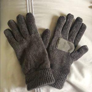 Gray Winter Gloves